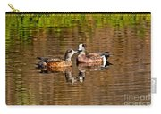 American Wigeon Pair Together Carry-all Pouch