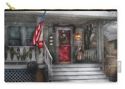 Americana - A Tribute To Rockwell - Westfield Nj Carry-all Pouch by Mike Savad