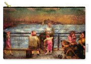 Americana - People - Jewish Families Carry-all Pouch by Mike Savad
