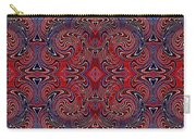 Americana Swirl Banner 1 Carry-all Pouch