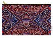 Americana Swirl Design 10 Carry-all Pouch