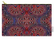 Americana Swirl Design 2 Carry-all Pouch
