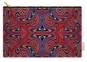 Americana Swirl Design 3 Carry-all Pouch
