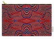 Americana Swirl Design 9 Carry-all Pouch