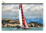 America's Cup And Alcatraz Ll Carry-all Pouch