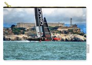 America's Cup And Alcatraz Carry-all Pouch
