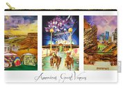 America's Great Venues Carry-all Pouch by Joshua Morton