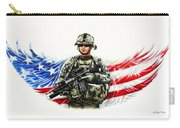 Americas Guardian Angel Carry-all Pouch by Andrew Read
