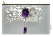 Amethyst Caverns Carry-all Pouch