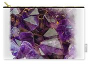 Amethyst Crystals. Elegant Knickknacks From Jenny Rainbow Carry-all Pouch