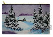 Amethyst Evening After Ross Carry-all Pouch by Barbara Griffin