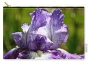 Amethyst Iris Carry-all Pouch