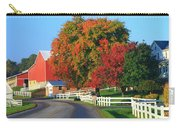Amish Barn In Autumn Carry-all Pouch