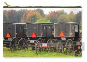 Amish Buggies 2 Carry-all Pouch
