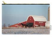 Amish Buggy And Red Barn Carry-all Pouch