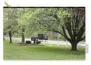 Amish Buggy At Riverbend Park Carry-all Pouch
