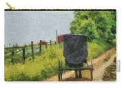 Amish Buggy In Ohio Carry-all Pouch
