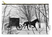 Amish Buggy Revised Carry-all Pouch