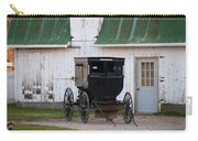 Amish Buggy White Barn Carry-all Pouch