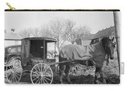 Amish Carriage, 1942 Carry-all Pouch