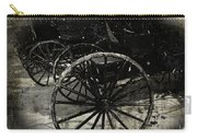 Amish Cart Wheels Grunge Carry-all Pouch