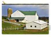 Amish Country Barn Carry-all Pouch by Frozen in Time Fine Art Photography
