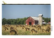 Amish Country Wheat Stacks And Barn Carry-all Pouch