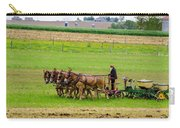 Amish Farmer Carry-all Pouch by Guy Whiteley