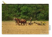 Amish Farmer Tilling The Fields Carry-all Pouch