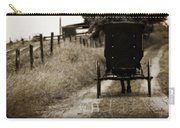 Amish Horse And Buggy Carry-all Pouch