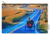 Amish Horse And Buggy In Autumn Carry-all Pouch