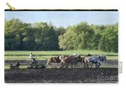 Amish Plowing Field Carry-all Pouch
