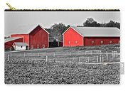 Amish Red Barn And Farm Carry-all Pouch