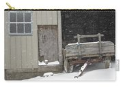 Amish Snowfall Carry-all Pouch