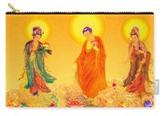 Amitabha And Two Bodhisattvas Carry-all Pouch