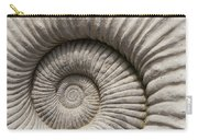 Ammonites Fossil Shell Carry-all Pouch