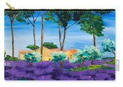 Among The Lavender Carry-all Pouch