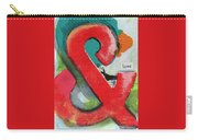 Ampersand Love Carry-all Pouch