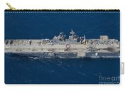 Amphibious Assault Ship Uss Bonhomme Carry-all Pouch
