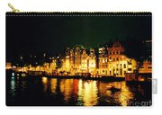 Amsterdam At Night Three Carry-all Pouch by John Malone