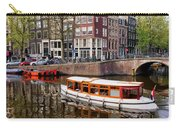 Amsterdam Canal And Houses Carry-all Pouch