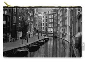 Amsterdam Canal Carry-all Pouch by Heather Applegate