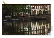 Amsterdam Canal Houses In The Rain Carry-all Pouch