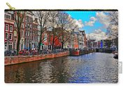 Amsterdam Canal In Spring Carry-all Pouch