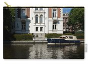 Amsterdam Canal Mansions - Bright White Symmetry  Carry-all Pouch