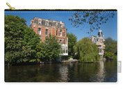 Amsterdam Canal Mansions - Floating By Carry-all Pouch