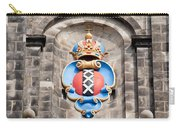 Amsterdam Coat Of Arms On Westerkerk Tower Carry-all Pouch