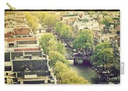 Amsterdam Holland Netherlands In Vintage Style Carry-all Pouch