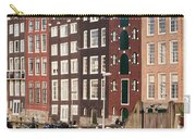 Amsterdam Houses Ar Sunset Carry-all Pouch