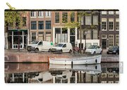 Amsterdam Houses By The Singel Canal Carry-all Pouch